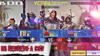 Partida Iguala en COD Mobile 34 Kills, De apoco voy volviendo- Agus Play