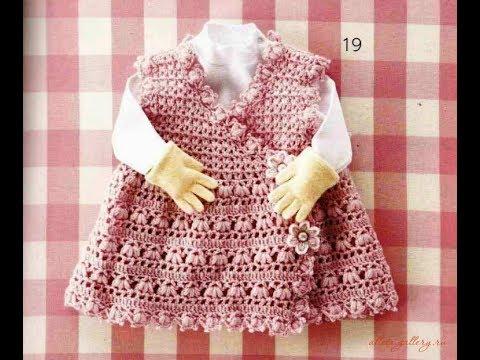 Crochet Patterns| for free |crochet baby dress| 2380