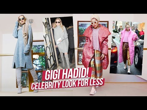 GIGI HADID STYLE STEAL! 3 LOOKS FOR LESS!