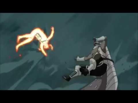 Raikage and Tsunade vs Naruto and Killer Bee