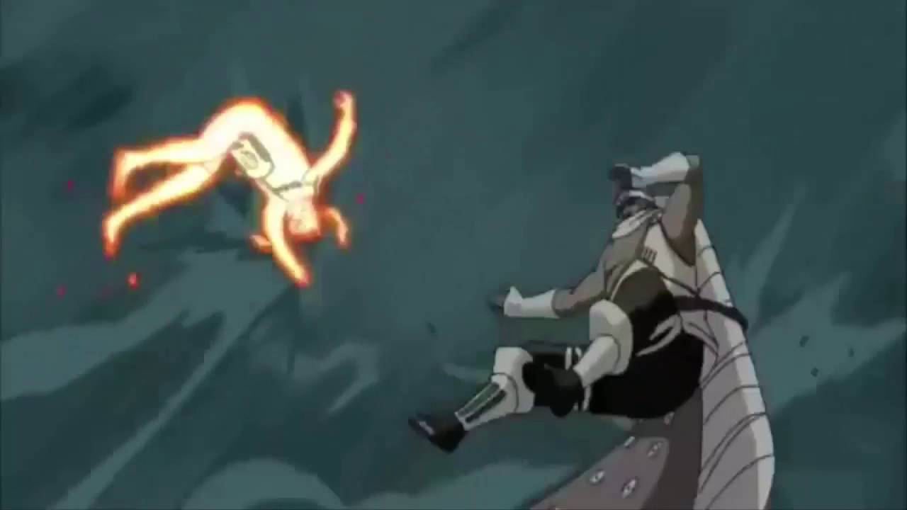 Raikage and Tsunade vs Naruto and Killer Bee