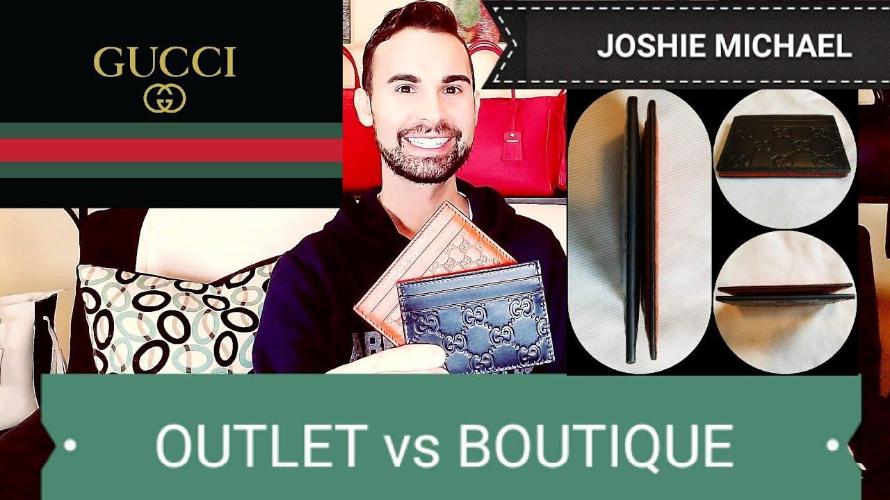 3669f5220c5d GUCCI Outlet vs BOUTIQUE