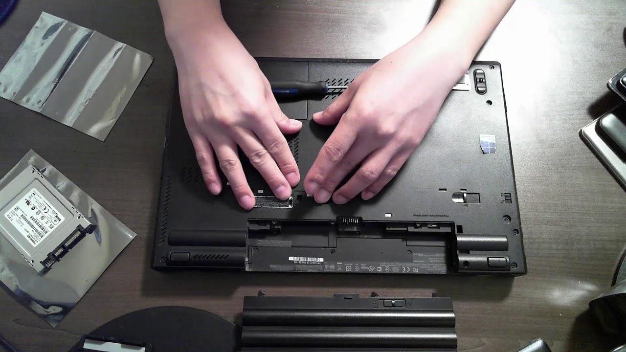 Lenovo Thinkpad W530 SSD & Memory Upgrade
