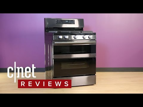 Samsung NX58M6850S gas range review: Worth its $1,700 price