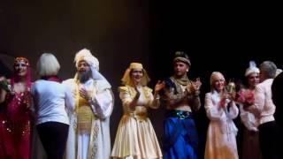 Премьера спектакля «Аладдин» в Московском Театральном центре «Вишневый сад» (23.02.17)