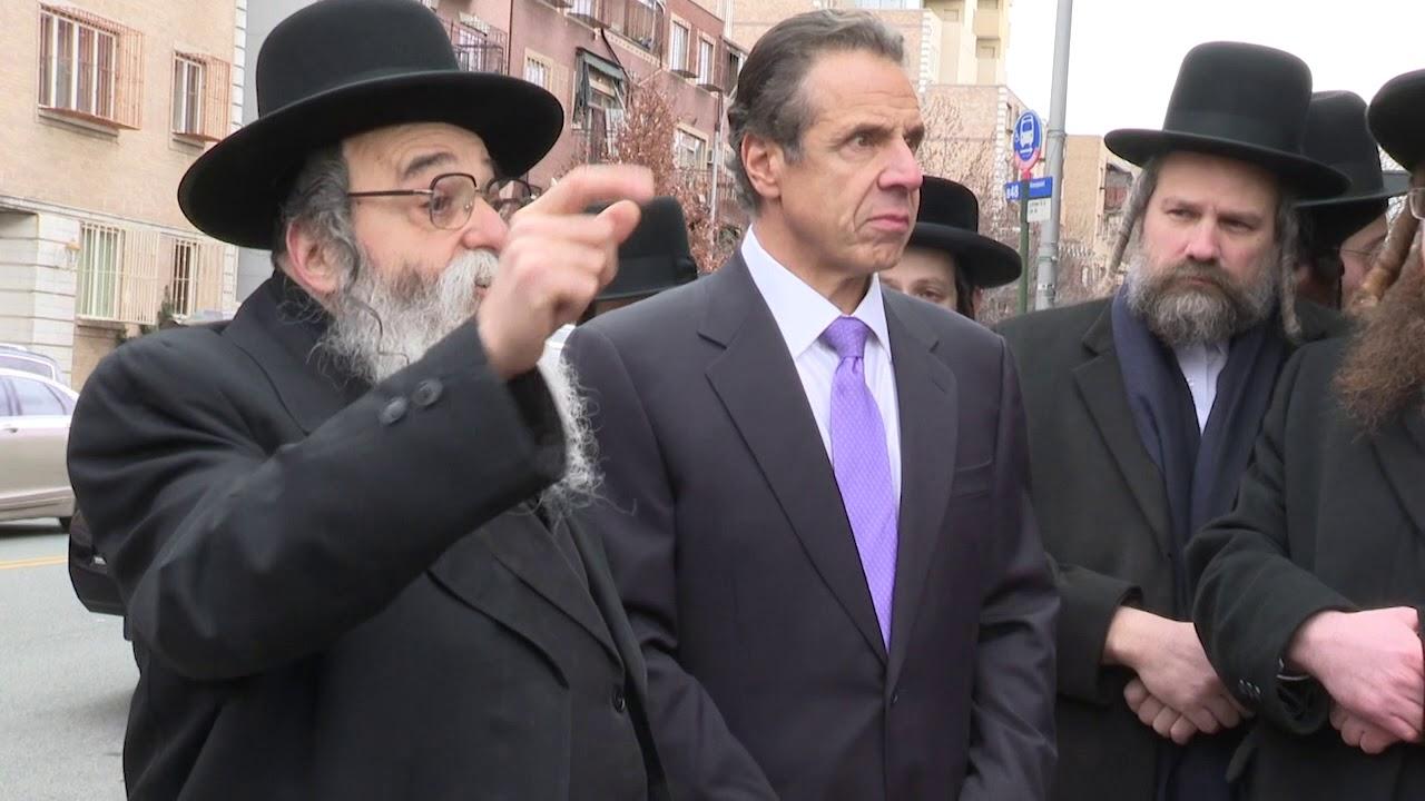 Updated B Roll Governor Cuomo Visits Orthodox Jewish Neighborhood In Williamsburg Youtube