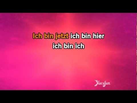 Karaoke Ich Bin Ich (Wir Sind Wir) - Rosenstolz *