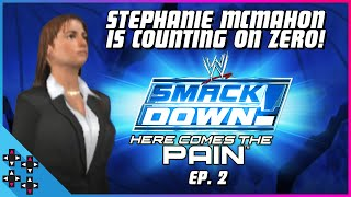 HERE COMES THE PAIN #2: STEPHANIE MCMAHON is counting on Zero! - UpUpDownDown Plays