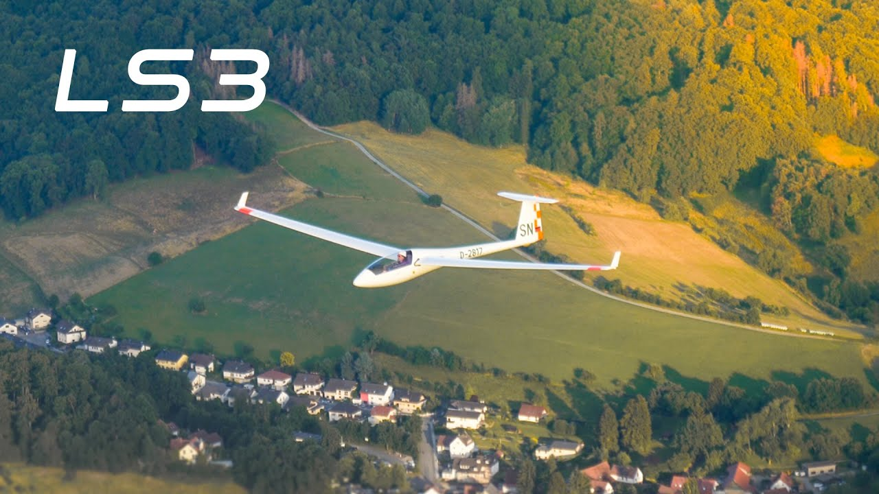 My Sailplane for the World Gliding Championship? | LS3 Testflight 800 KM