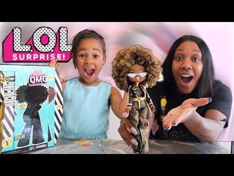 LOL Surprise O.M.G. Doll Unboxing!!