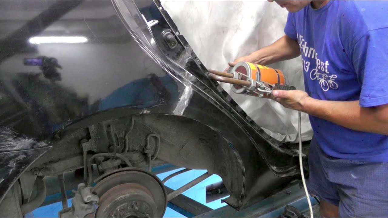 Toyota Camry.     Замена сапожка крыла.  СЕКРЕТНЫЙ ПРОЕКТ.