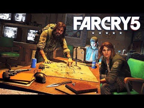 FAR CRY 5 JACOB'S REGION & PET BEAR CHEESEBURGER!! (Far Cry 5 Gameplay)