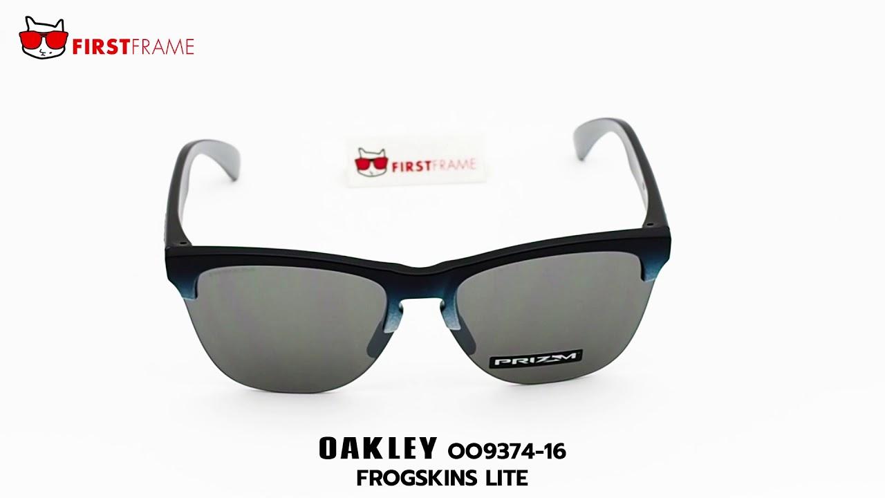 8c9599deb18 OAKLEY OO9374-16 FROGSKINS LITE - YouTube