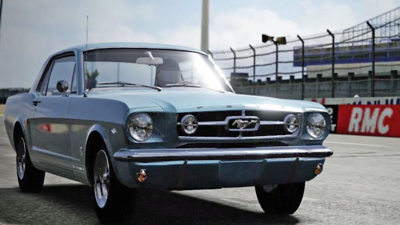 Forza motorsport 4 ford mustang gt coupe 1965 test drive gameplay hd 1080p60fps