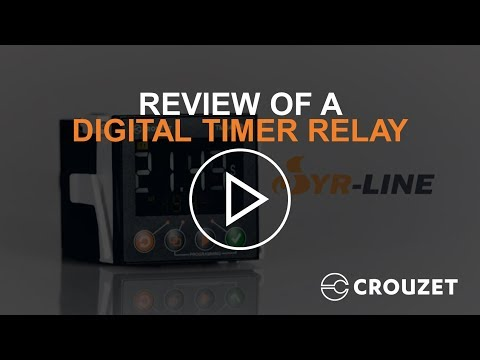 Digital Timer Relay Review (Syr-line) by Crouzet