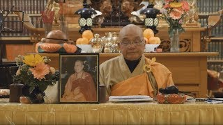 Infinite Life Sutra (無量壽經) lecture at Berkeley Buddhist Monastery, 17 March 2018