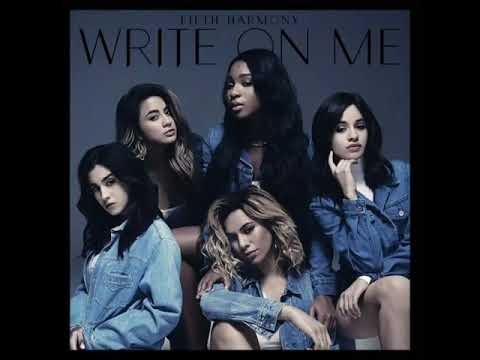 Write on me (ally's back voice)