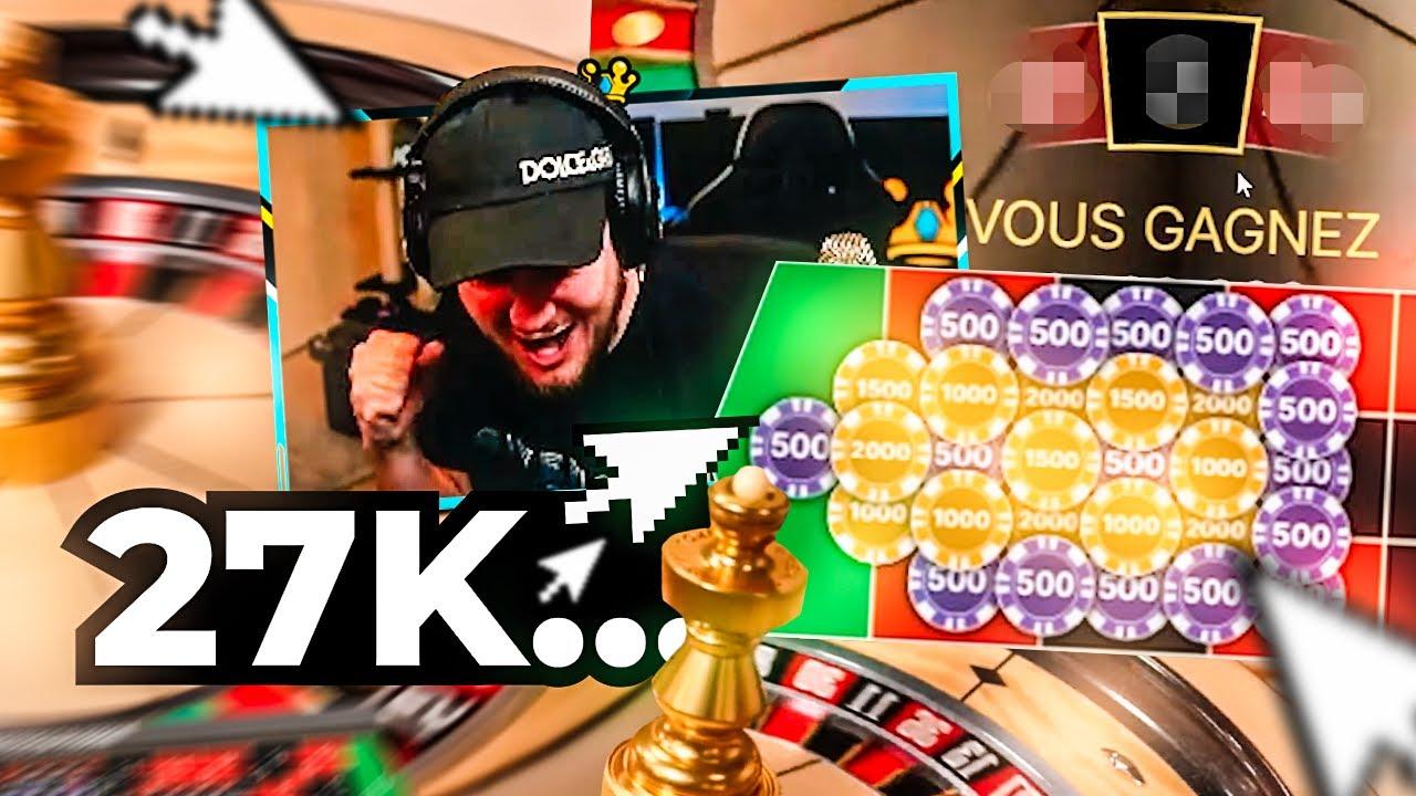 🚀 Je POSE 27.000€ sur 1/4 de la roulette ~ (BEST OF BIDULE #117)