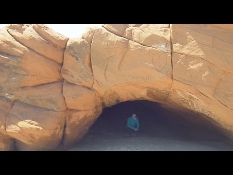 Exploring 9 Beach Caves On The Magdalen Islands