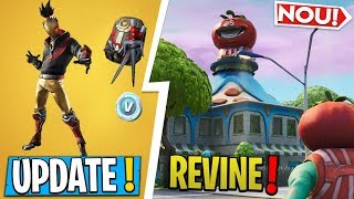 * NEW * Fortnite UPDATE | * TOMATO TOWN * RETURNS, THE NEW STARTER PACK!