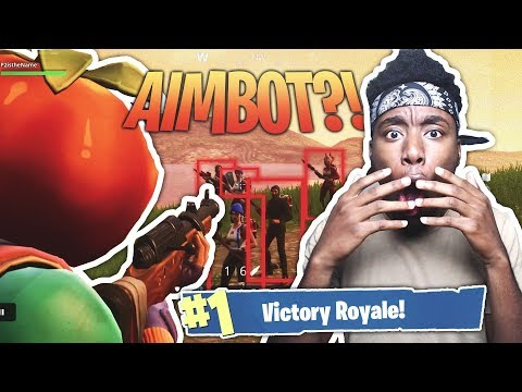 FORTNITE HACKER GAVE ME AIMBOT ON SECRET SKIN?! WEIRDEST DUOS FORTNITE DUOS VICTORY!