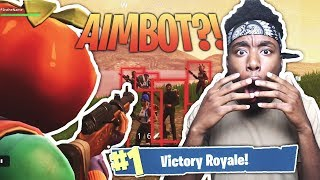 FORTNITE HACKER M'A DONNÉ AIMBOT SUR SECRET SKIN?! WEIRDEST DUOS FORTNITE DUOS VICTORY!