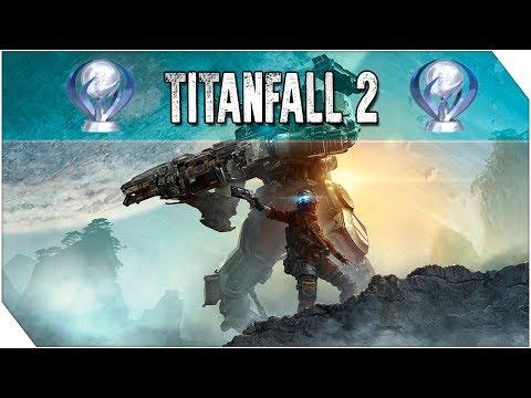 ¡Trofeo Platino de TITANFALL 2!