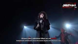 「Hagane no Resistance」JAM Project ~THUMB RISE AGAIN LIVE TOUR~ Sub. Español