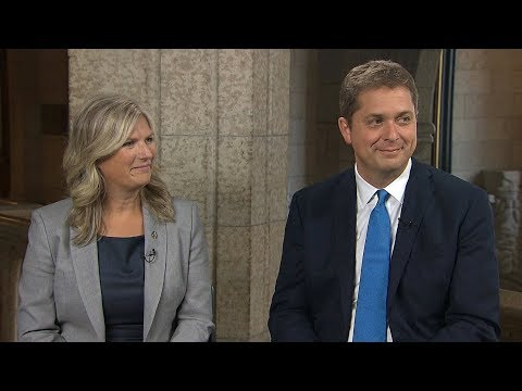 Andrew Scheer, Leona Alleslev discuss why she joined the Conservative Party