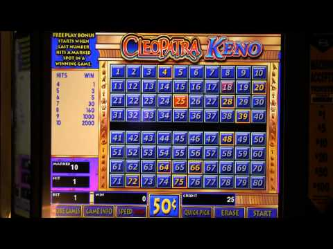 Video Keno $20 Challenge - IGT Game King