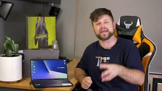 Dual Screen Laptop!? | ASUS Zenbook 14 UX434FL Review | Tech Man Pat