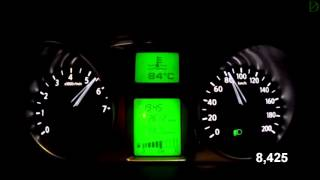Datsun On-Do Acceleration 0-100 km/h (Racelogic)