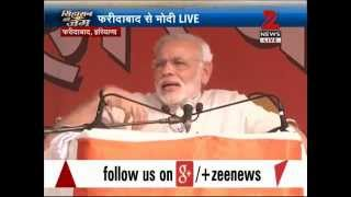 Haryana polls: Narendra Modi calls for end to dynasty politics