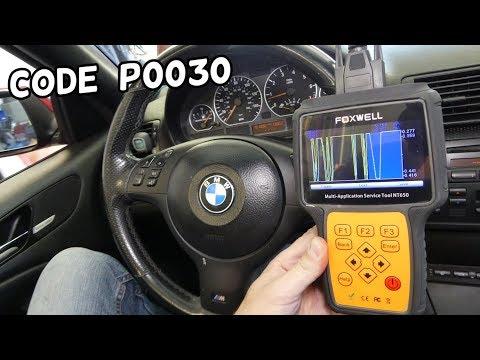 CODE P0030 HO2S HEATER CONTROL CIRCUIT BANK 1 SENSOR 1 BMW E46 FIX