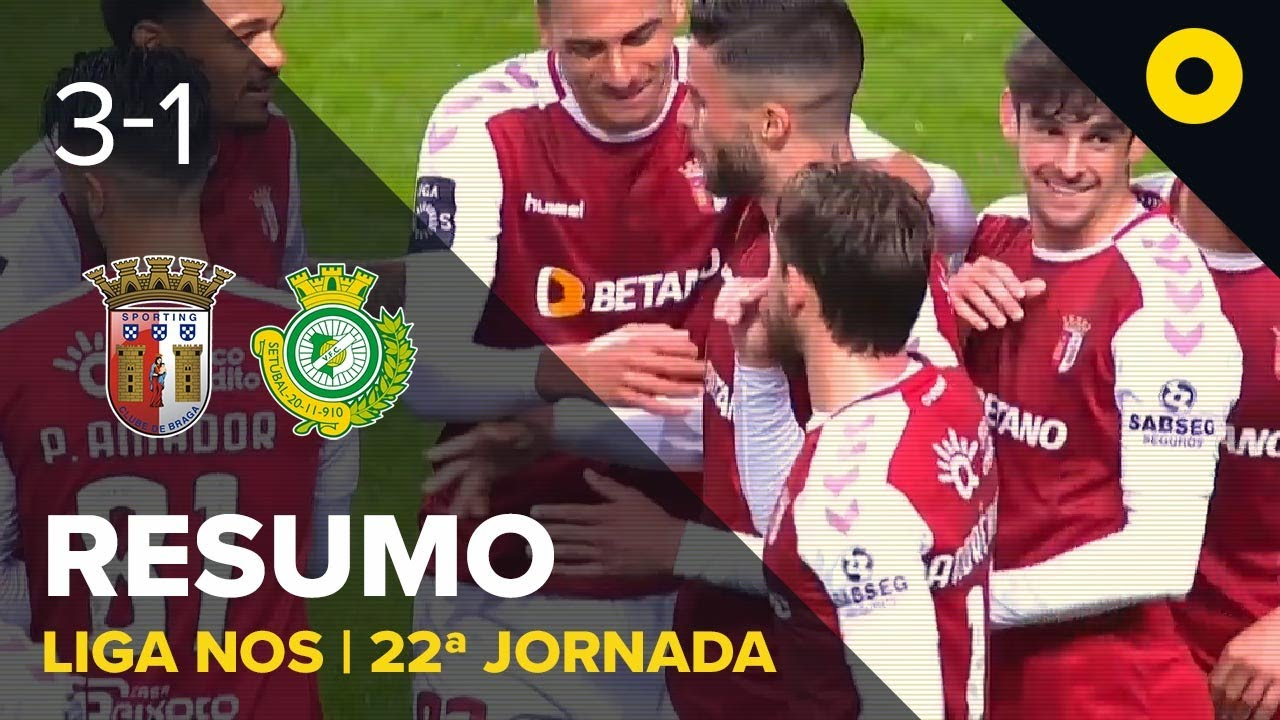 Брага  3-1  Витория Сетубал видео