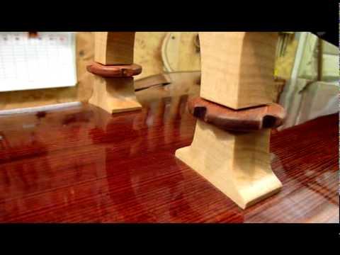 adjustable bridge making for upright bass youtube. Black Bedroom Furniture Sets. Home Design Ideas