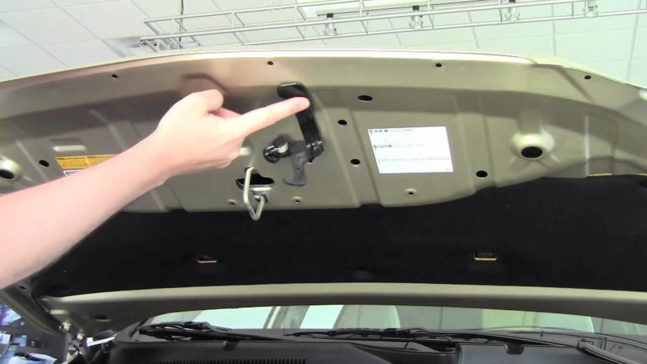 2011 Toyota Rav4 Hood Release How To By Toyota