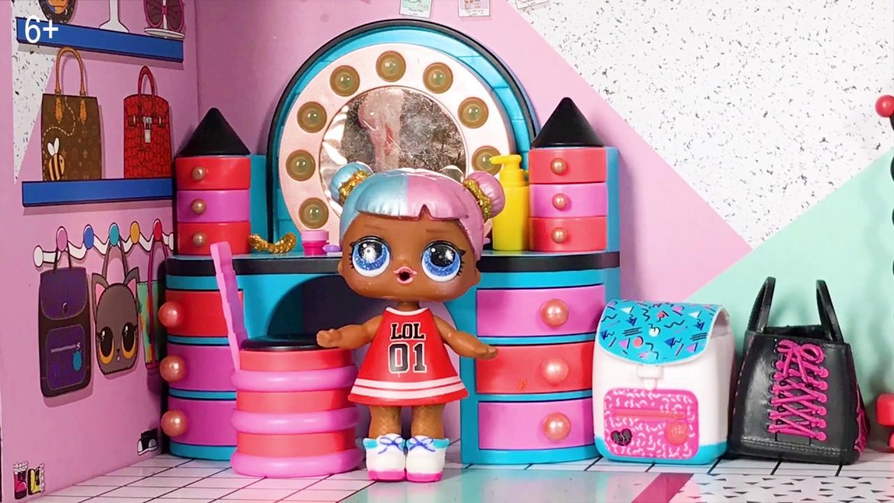 Нелли и домик ЛОЛ. Куклы ЛОЛ помогают Нелли - YouTube