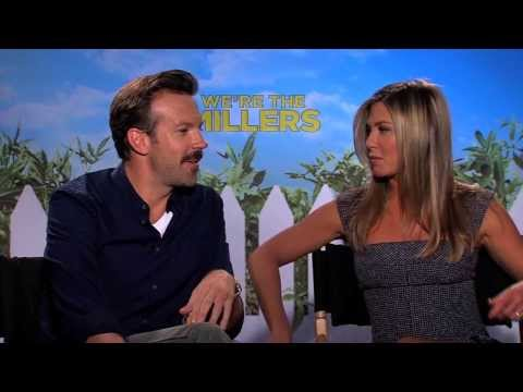 Jennifer Aniston (FRIENDS) and Jason Sudeikis interview - We're The Millers - Emma Roberts