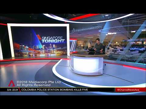 Channel NewsAsia Singapore Tonight Close in style with ABC News Australia theme