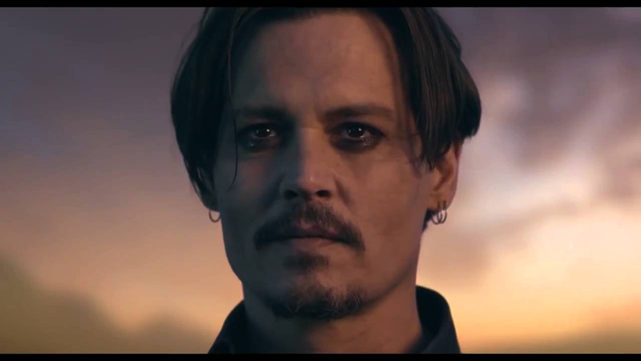 Johnny depp cologne commercial