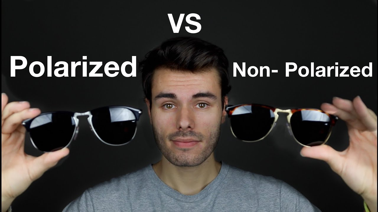 polarized vs non polarized sunglasses youtube. Black Bedroom Furniture Sets. Home Design Ideas
