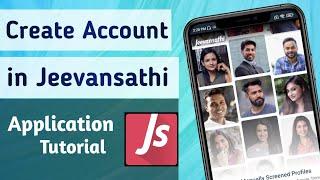 How to Create Account in Jeevansathi. Com Matrimonial Match making App screenshot 2