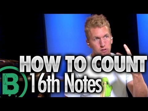 How To Count Sixteenth Notes  Beginner Drum Lessons
