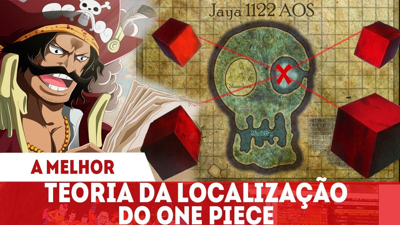 A MELHOR TEORIA DE ONE PIECE?A LOCALIZAÇÃO E O SIGNIFICADO DO  TESOURO BY OHARA & YUDE RON
