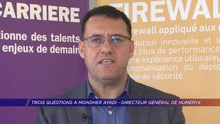 Yvelines | Trois questions à Mondher Ayadi, directeur général de Numeryx