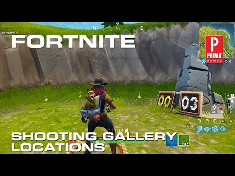 Fortnite Shooting Galleries - All Shooting Gallery Locations In Fortnite