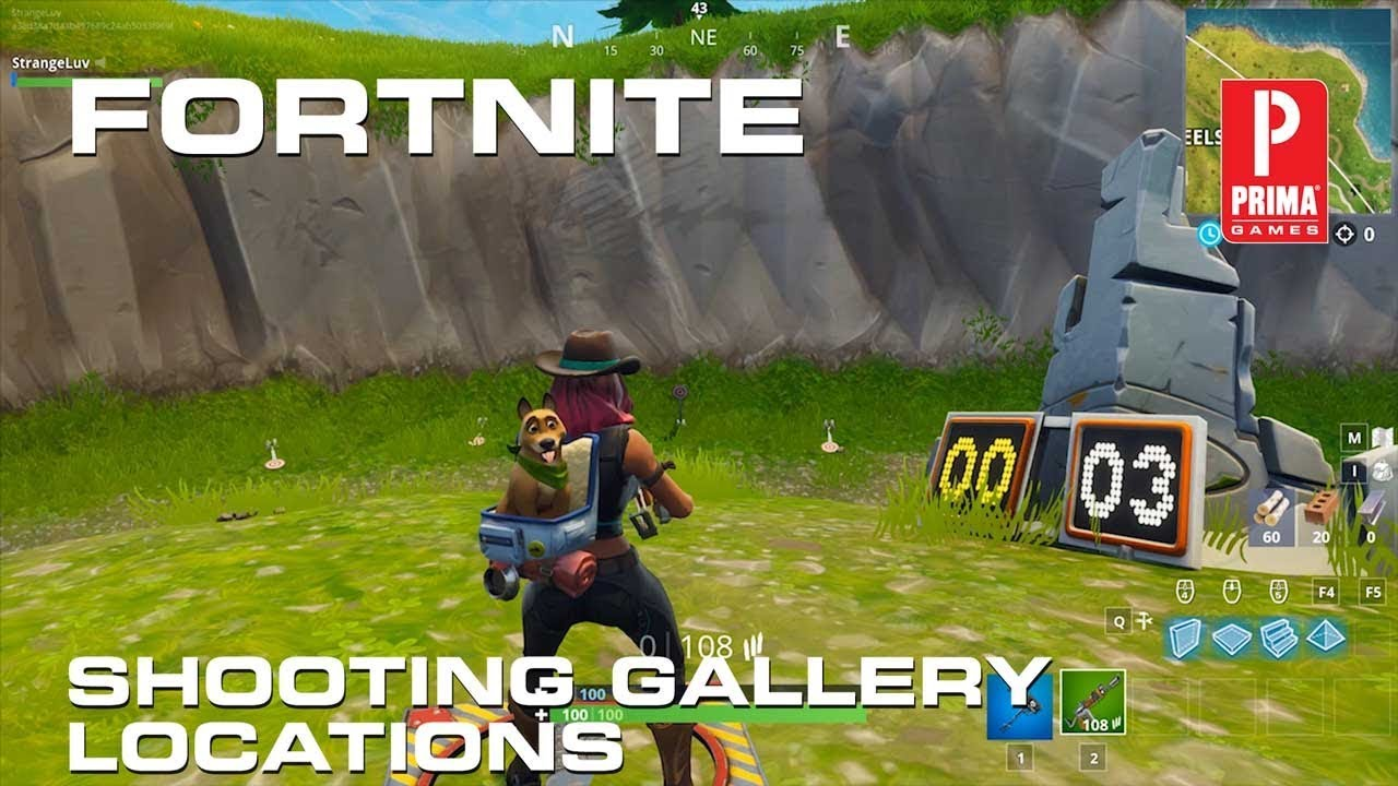 Fortnite Shooting Galleries All Shooting Gallery Locations In