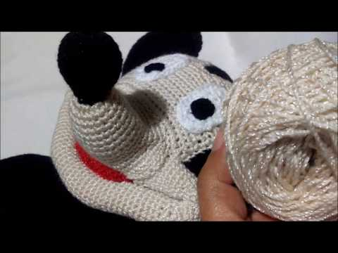 Handmade by Meg K: Crocheted Mickey Mouse [Pattern Review] | 360x480