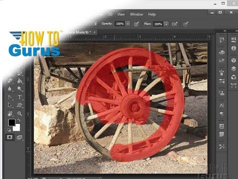 How To Use The Adobe Photoshop Quick Mask Tool -  CS5 CS6 CC Tutorial